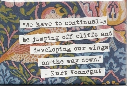 eSpark's Read of the Day: This Two-Word Quote From Writer Kurt Vonnegut Will Change the Way You Work