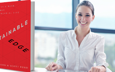 "Angela's Short & Sassy Book Review — ""The Sustainable Edge: 15 Minutes a Week to a Richer Entrepreneurial Life"""